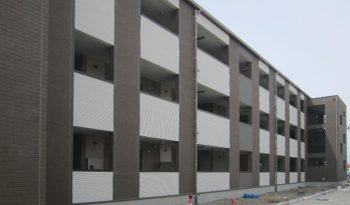 2×4スチールハウス CFS工法 (Cold Formed Steel) 集合住宅の実例写真No.001