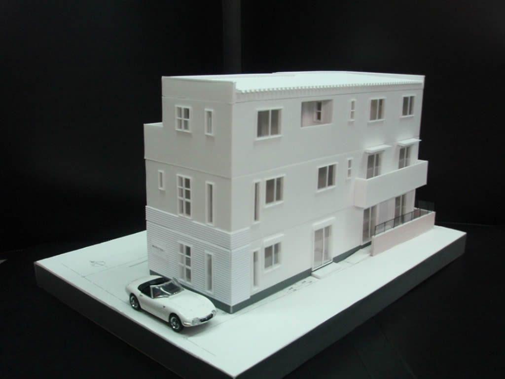 事務所+自宅+共同住宅No-001-02