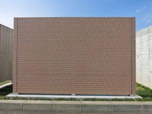CFSを使用したタイル風サイディング塀(奥井組オリジナル)